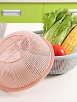 Multi - round Circular Hollow Plastic Wash Basket Three - piece