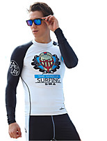 Quick-Drying Diving Suits Men Split Surf Suits Long-Sleeved Snorkeling Clothes Sunscreen Jellyfish Service Large Size Shirt
