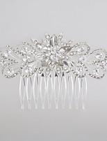 סגסוגת כיסוי ראש-חתונה אירוע מיוחד מסרקי שיער חלק 1