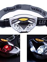 Налобные фонари LED 500 Люмен 3 Режим LED AAA3 режима Светодиодная лампа Легко для того чтобы снести Экстренная ситуация Очень легкие