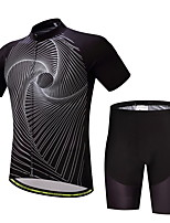 CYCEARTH Cycling Jersey Shorts Pants Short Sleeve Set Men's Bike Clothing Suits Clothes Summer Breathable Quick Dry CES1018
