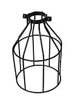 Винтажная промышленная черная металлическая птица клетка лампа тень осветительная крышка для подвесных светильников настенные светильники