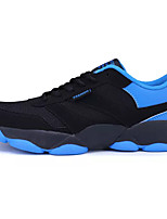 Running Shoes Men's Athletic Shoes Comfort PU Tulle Spring Fall Athletic Casual  Comfort Lace-up Blue Ruby Orange Flat