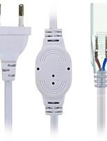 HKV® US/EU Plug Socket With 2 Pins For 5630/5050 SMD LED Strip Light Bar AC220-240V