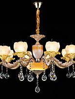 Lampadario, classica / classica caratteristica in lega di zinco per mini soggiorno in metallo stile cristallo camera da letto studio /