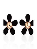 Жен. Серьги-слезки Бижутерия Мода EVA смолы В форме цветка Бижутерия НазначениеСвадьба Вечерние Для праздника / вечеринки На каждый день
