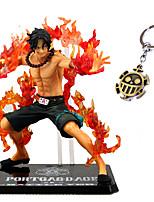 Figuras de Ação Anime Inspirado por One Piece Ace PVC CM modelo Brinquedos Boneca de Brinquedo