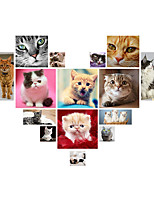 Wall Stickers Wall Decals Creative Cute Kitty PVC Wall Stickers
