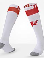 Простой Спортивные носки Муж. Носки Все сезоны Противозаносный Износоустойчивый Хлопок Футбол