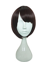 Capless Anime BOB Cosplay Black Wig Wigs for Women Costume Wigs Synthetic Wig