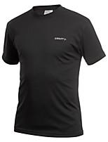 Men's Women's Running T-Shirt Fitness, Running & Yoga Quick Dry Sweatshirt for Running/Jogging Exercise & Fitness Black Purple Sky Blue