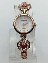 Damen Modeuhr Armband-Uhr Quartz Legierung Band Bequem Rotgold