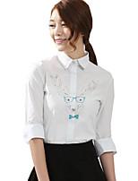 Top o camicia Lolita Classica e Tradizionale Lolita Cosplay Vestiti Lolita Con stampe Manica lunga Lolita Camicia Per Stoffa (cotone)