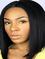Hot BOB Natural Color Human Virgin Hair 130% Density Full Lace Wig with Baby Hair for Black Women