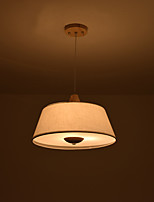 Luz pendente característica país moderno / contemporâneo para led madeira / dentro / sala de jantar / sala de estudo / escritório
