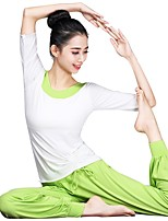 Йога Наборы одежды На каждый день Спортивная одежда Жен. Йога Пилатес Танцы