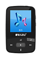 RUIZU X50 8G Lossless Music Bluetooth MP3 / MP4 with Clip
