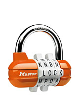MasterLock 1523MCND Password Padlock Zinc Alloy 4digit Password Sports Code Lock Gymnasium Dresser Padlock Lock Bag Lock Dail Lock Password Lock