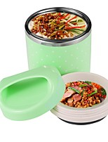 780ml Thermal 1 Layer Stainless Steel Multifunctional Heat & Cold Preservation Lunch Box