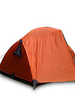 3-4 persons Tent Double Camping Tent Fold Tent Keep Warm Rain-Proof for Camping / Hiking CM Other Material