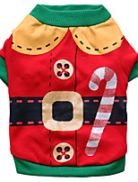 Dog Costume Dog Clothes Cosplay Christmas Cartoon Ruby