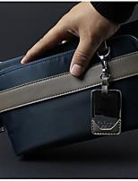 Men Clutch Oxford Cloth All Seasons Casual Outdoor Square Zipper Gray Black Blue