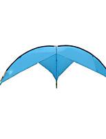 5 a 8 Personas Tienda Refugio y Toldo de Camping Carpa para camping Tienda de Campaña Plegable Impermeable Resistente a los UV para CM