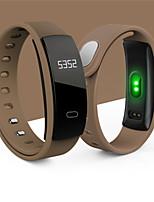 Hombre Reloj Smart Reloj de Moda Digital Resistente al Agua Caucho Banda Negro Azul Rojo Marrón Morado
