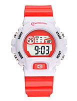 Kid's Sport Watch Digital Water Resistant / Water Proof Noctilucent Rubber Band Black Blue Red