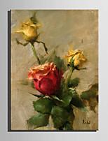 手描きの ヌード 縦式,コンテンポラリー 1枚 キャンバス ハング塗装油絵 For ホームデコレーション