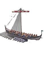 Набор для творчества 3D пазлы Пазлы Игрушки Корабль 3D Своими руками Не указано Куски