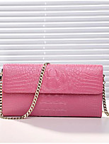 Women Checkbook Wallet Cowhide All Seasons Casual Rectangle Zipper Blushing Pink Aquamarine Gold