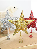 20Cm Iron Art Star Christmas Tree Top Decorated/Christmas Tree Top Star Star Of Christmas Decorations