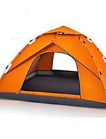 3 a 4 Personas Colchoneta de Camping Tienda de playa Carpa para camping Tienda de Campaña Automática Mantiene abrigado A prueba de polvo