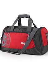 Unisex Travel Bag Oxford Cloth All Seasons Casual Sports Outdoor Duffel Zipper Clover Red Black Blue