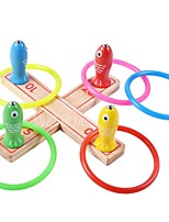 Stress Relievers Magnet Toys Fishing Toys Round Wood Others 3-6 years old