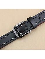 Retro rivets hollow out washing series cowboy joker lady belts