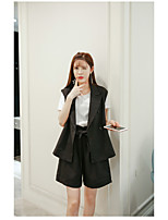 Women's Daily Soak Off Summer Blazer Skirt Suits,Solid Hooded Long Sleeve strenchy