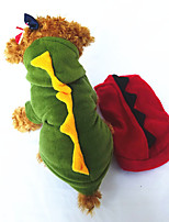 Dog Costume Dog Clothes Cosplay Animal Green Ruby Yellow Black White