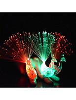 1 pcs Creative peacock finger lights kids like colour rings children's day/Birthday party gifts