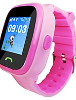 Детские Смарт-часы Цифровой Pезина Группа Синий Розовый