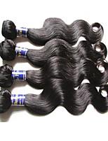 Ciocche a onde capelli veri Peruviano Ondulato naturale tesse capelli