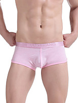Homme Masculin Sexy Solide Boxers