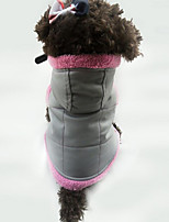Dog Vest Dog Clothes Casual/Daily Solid Purple Orange White