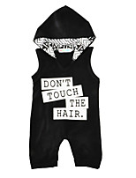 Baby Print One-Pieces Cotton Summer Sleeveless Hooded Baby Boys Romper Kids Jumpsuits Bodysuits for Boy