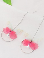 Damen Tropfen-Ohrringe Imitierte PerlenBasis Einzigartiges Design Tier Design Perle Freundschaft Britisch Bikini Modisch Chrismas