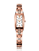 Women's Fashion Watch Bracelet Watch Quartz Water Resistant / Water Proof Alloy Band Silver Gold Rose Gold
