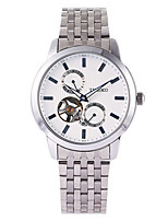 Men's Mechanical Watch Automatic self-winding Stainless Steel Band Silver