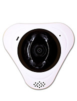 Fotocamera ip panoramica 360 wifi sicurezza cctv microfono indoor storage card slot di memoria