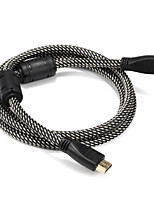 HDMI 1.4 Câble, HDMI 1.4 to HDMI 1.4 Câble Male - Male 1.5M (5Ft)
